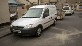 Combo - Vauxhall 1,7 TDCi - and trailer - good condition - low miles