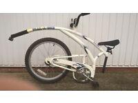 Adams Trail A Bike (tag along trailer bike)