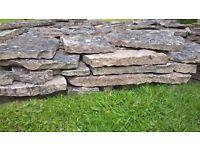 'Natural stone' patio slabs