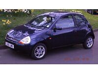 Ford KA 02 luxury low mileage & 12 month MOT
