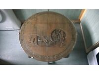 antique carved table articulate