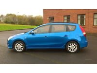 2011 Hyundai i30 diesel Estate, full Hyundai service history, one owner from new.