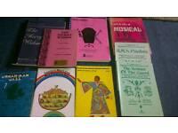 Scores for musicals, plus some librettos - FREE