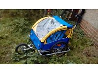 FREE double buggy child carrier for adult bike