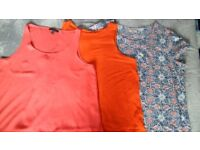 Ladies tops in size 20, (Set of 3, 2 sleeveless & 1 short sleeve).
