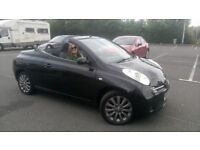 Nissan Micra 2008 1.6 CC Chic convertible SPARES AND REPAIRS