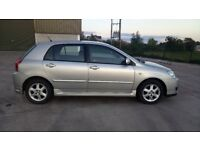 For sale 2006 Toyota Corlla 1.4 petrol