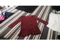 Bundle of ladies clothes sizes 12 and 14.