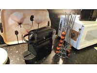Nespresso Coffee Machine, selection of pods and holder