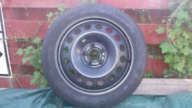 volvo s60 spacesaver spare wheel