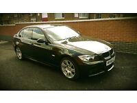 BMW 3 Series 2.0 320i M Sport 4dr, 2006, 5 seats, petrol, saloon, 60 000 miles, black
