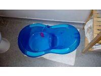 Free Blue Baby Bath