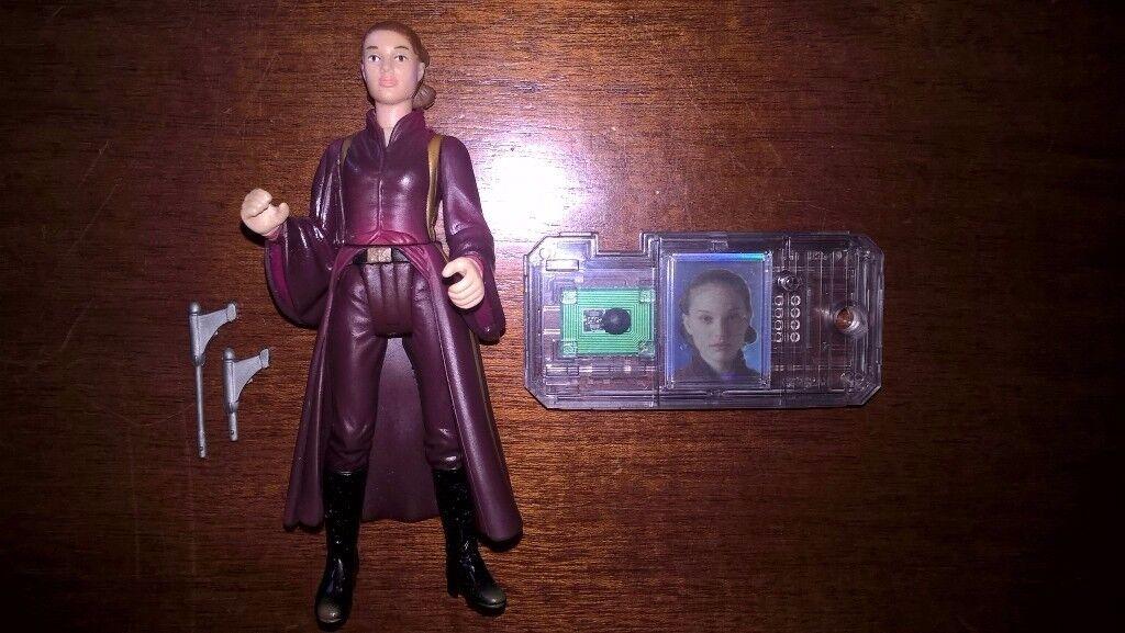 Star Wars Episode 1 The Phantom Menace Padme Amidala Naboo 3:75 inch Figure