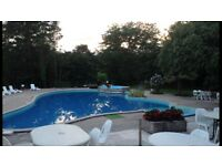Holiday chalets in France. Family run. English speaking. Stunning area. Pool, golf.