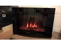 Modern Electric Fire with Remote Control
