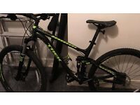 Trek Full suspension mountain bike large men's on used brand-new Excellent condition