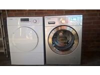 SAMSUNG WASHING MACHINE & BOSCH TUMBLE DRIER