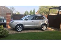 HYUNDAI TUCSON 4X4 CDX ESTATE 2008 58 PLATE MOT FEBRUARY