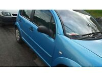 Citroen c3 REDUCED PRICE, YEARS MOT