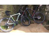 """Felt men's mountain bike 27"""" 19"""""""