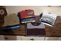 Bundle of teenage boys clothes