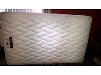 Silentnight small double bed mattress for sale 4ft x 6.4ft. Un-used. Immaculate condition