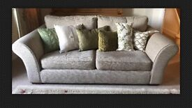Set Of 2 identical NEXT 3 Seater Settees EXCELLENT CONDITION