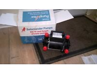 salamander shower pump ct 50 twin 1.5 bar unused spare pump.also other plumbing bits and pieces