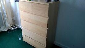 Like new beech drawers