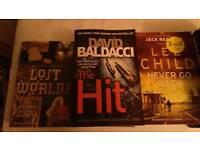Joblot new novels