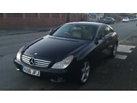 2006 (56) MERCEDES-BENZ CLS320 CDi SPORT 7G TRONIC AUTO, FULL CREAM LEATHER, FULL HISTORY, BEAUTIFUL