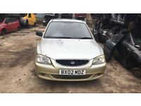 2002 Hyundai Accent 1 3dr 1.3 Petrol Yellow BREAKING FOR SPARES