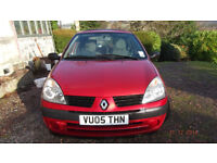 Renault Clio Expression 16v 2005 for sale
