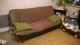 Double sofa bed removable cover