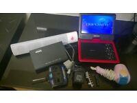 job lot new pill xl wm-1300 speaker db portable dvd player talktalk hg633 router freeview recorder
