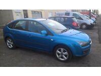 Ford focus 1.8 petrol zetec 56/07 reg faulty bonnet catch slight rust front wheel arches full MOT