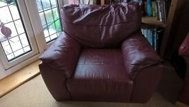 Leather Single Chair