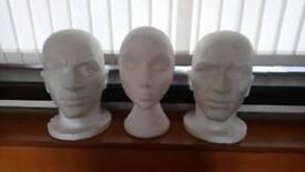 Polystyrene Shop Display Heads