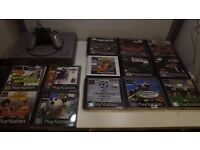 Playstation 1 console Plus 13 games, 1 controller,mem card all wires 1 months warranty