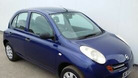 Nissan micra 2003 53 plate 5 door in very good condition cd player