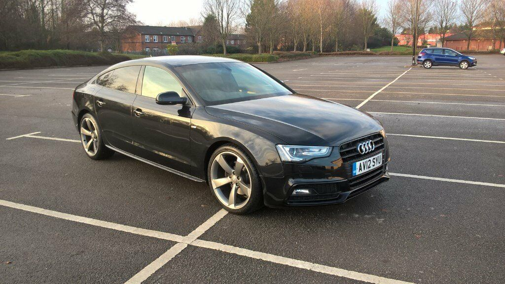 audi a5 2012 12 automatic semi auto 2 0 tdi s line fully loaded 5 door hatch service history cat. Black Bedroom Furniture Sets. Home Design Ideas