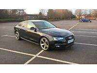 Audi A5 2012/12 AUTOMATIC/SEMI-AUTO 2.0 Tdi S-Line Fully Loaded 5 Door Hatch Service History Cat D