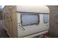 Small static caravan for rent