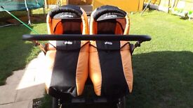 travel system for twins