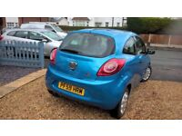 For sale: Ford Ka 19000 miles full service, 1 owner excellent condition new MOT Nov 2018