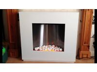 Dimplex Free standing Electric Fire with Surround.