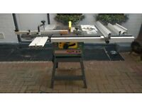 KITY 419 TABLE SAW WITH EXTENSION
