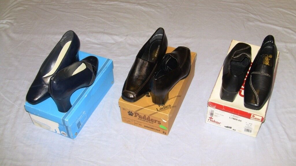3 Pair, Ladies Shoes, Size 7, Never Worn