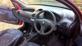 Peugeot 206 nice runner