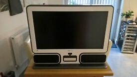 """32"""" Hannspree LCD TV / Large monitor with stereo speakers inContemporary style"""